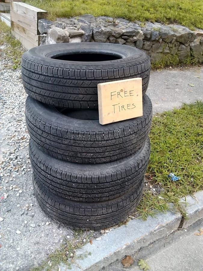 自由轮胎 免版税库存图片