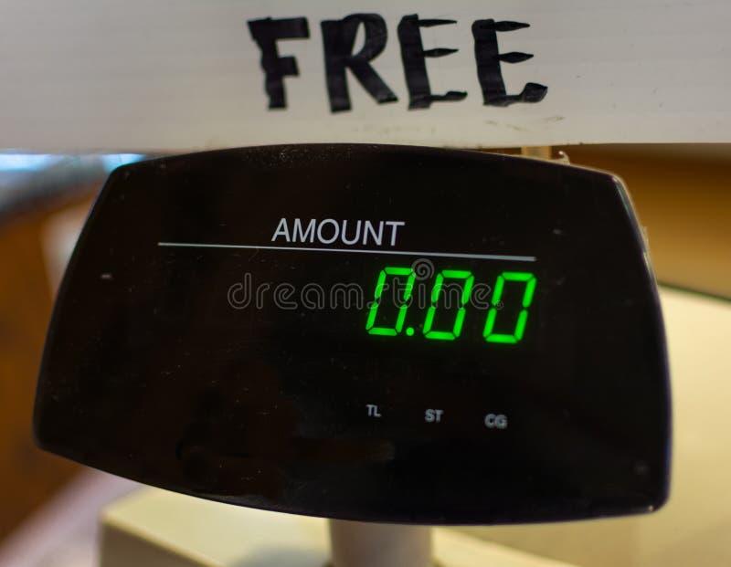 自由销售额 免版税库存图片