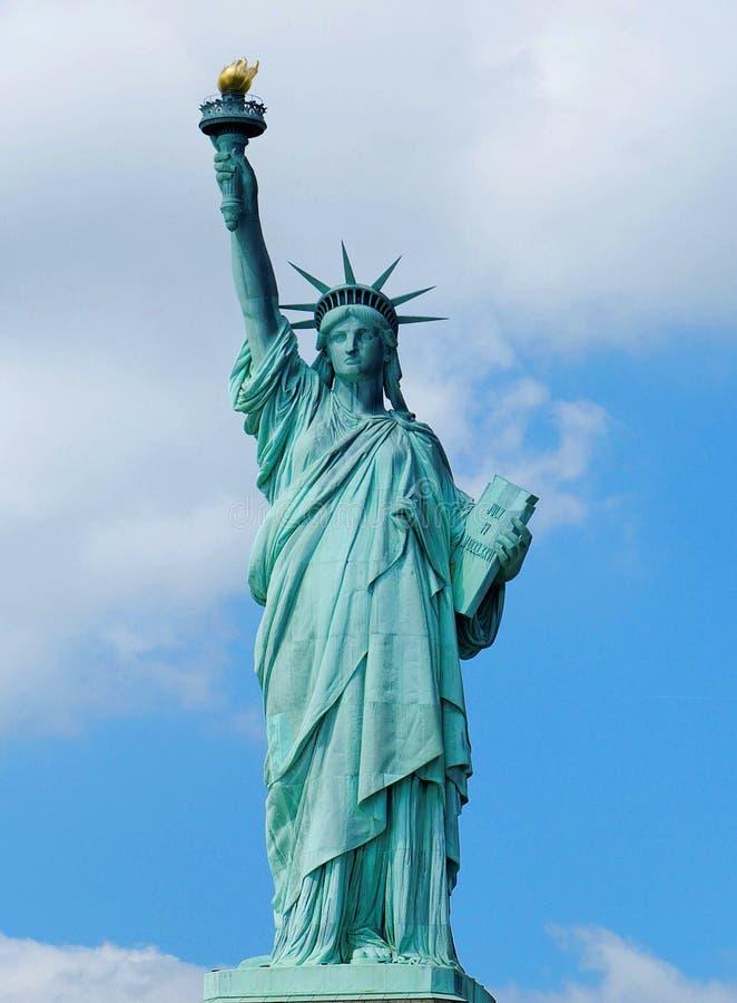 自由雕象 库存照片