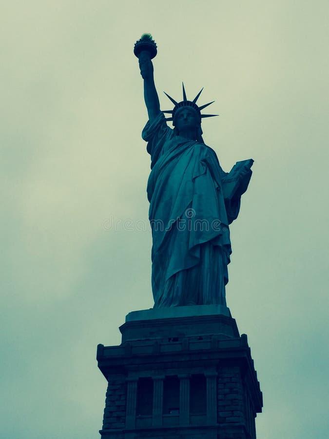 自由雕象NYC 库存照片