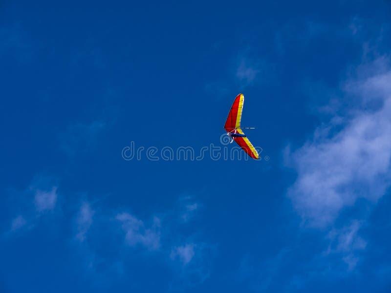 自由飞行滑动 免版税库存照片