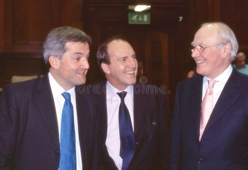 自由派民主党人领导辩论,伦敦 免版税库存图片