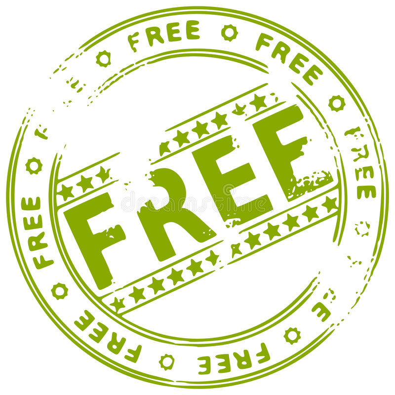 自由grunge墨水不加考虑表赞同的人 向量例证