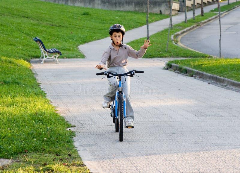 自行车乘驾 免版税库存照片