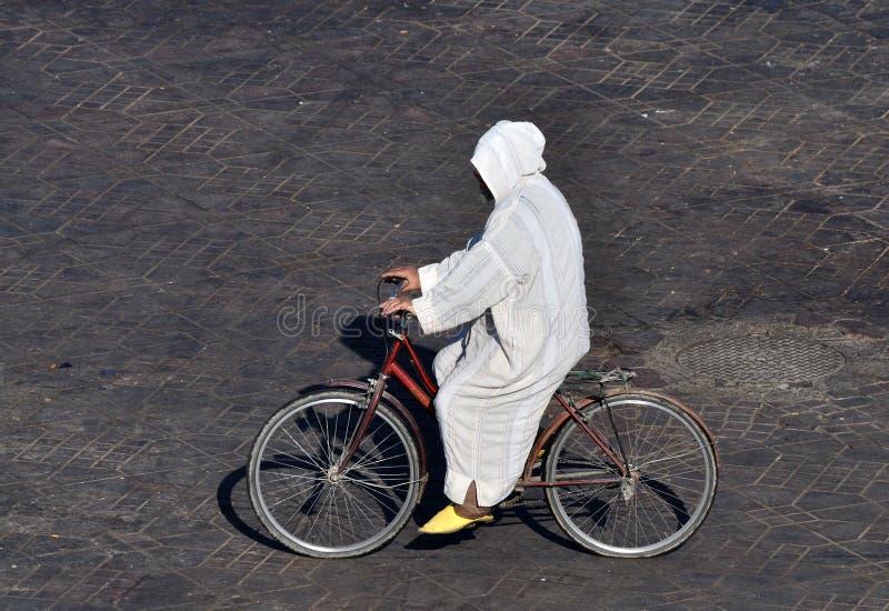 自行车人马拉喀什 免版税图库摄影