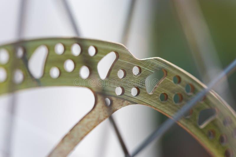 自行车作为在这些照片的主要题材 免版税库存图片