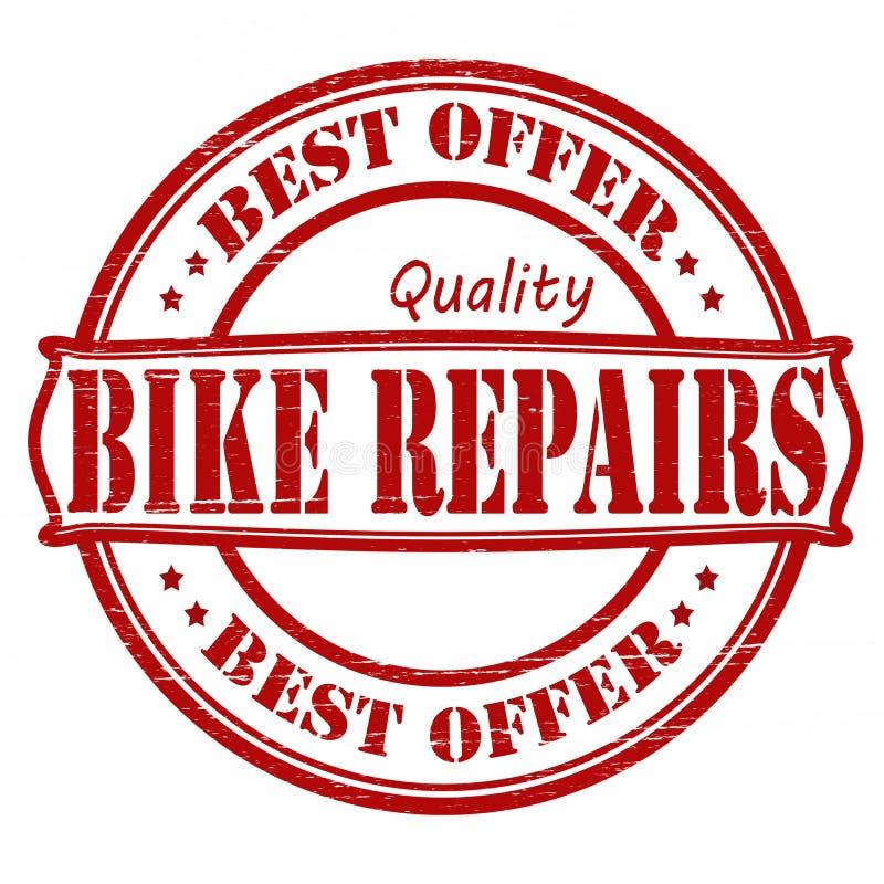 自行车修理 库存例证