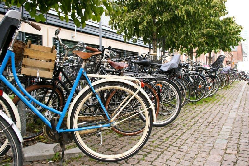 自行车哥本哈根机架 免版税图库摄影