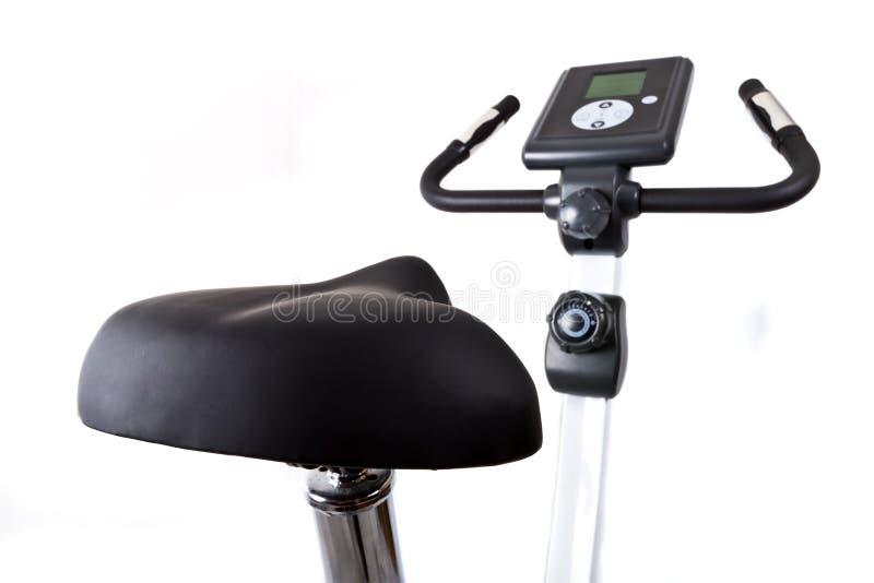 自行车培训 免版税库存图片