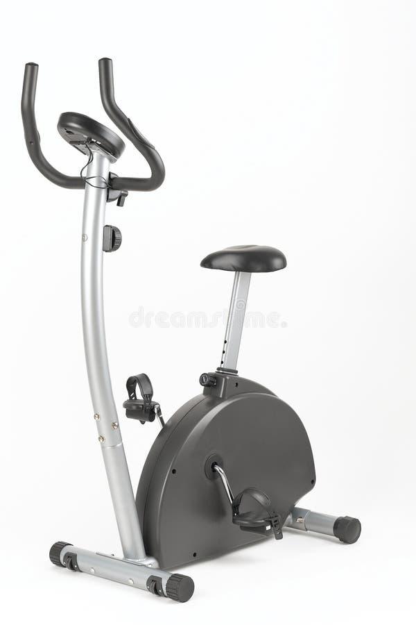 自行车培训 免版税图库摄影