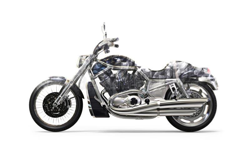黑自行车多角形FX 免版税库存图片