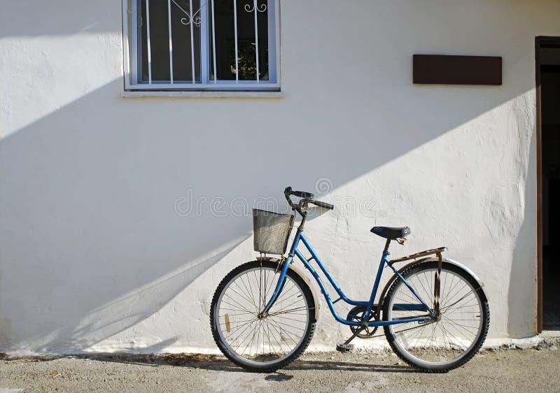 自行车大厦灰泥 免版税库存图片