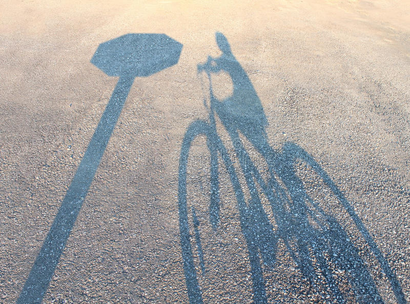 自行车安全 皇族释放例证