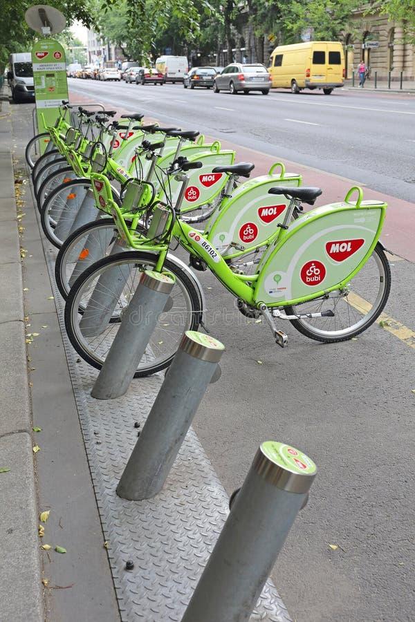 自行车布达佩斯 免版税图库摄影