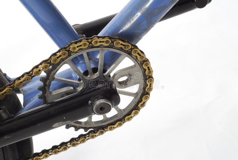自行车扣练齿轮 库存照片