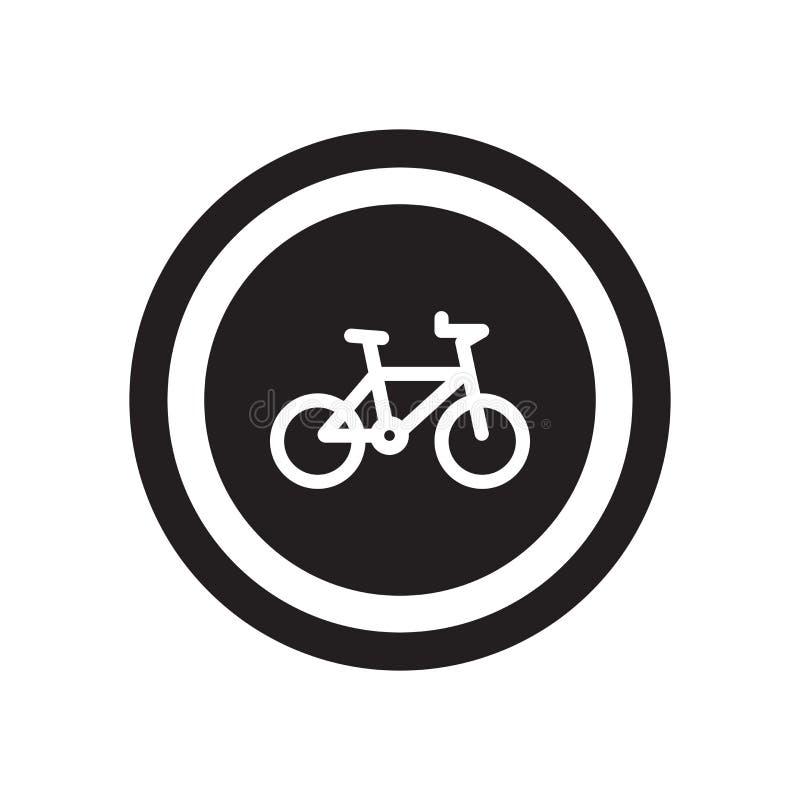 自行车标志象  库存例证