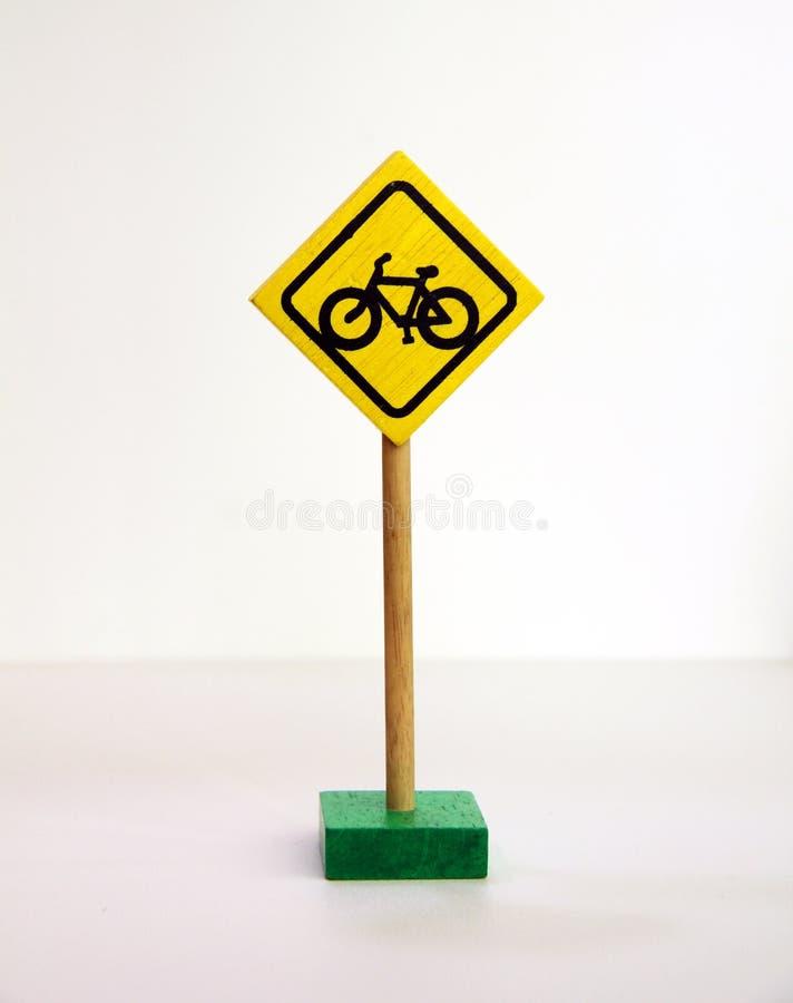 自行车横穿符号 免版税库存照片