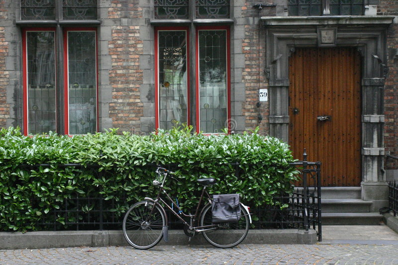 自行车欧洲 库存照片