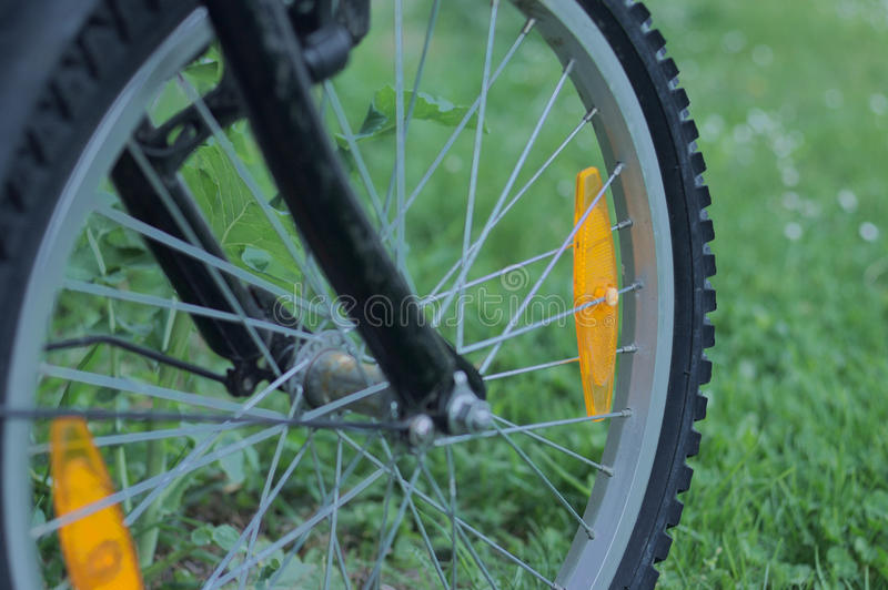自行车的轮胎 库存图片