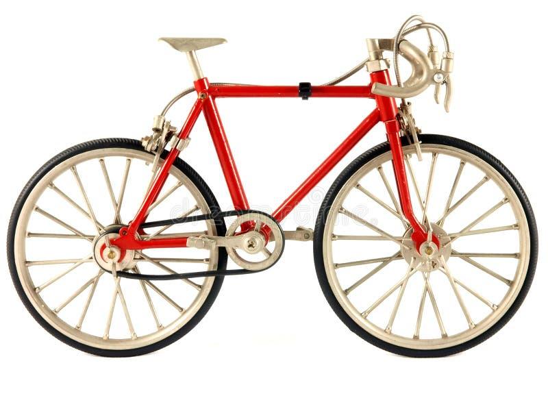 自行车竟赛者路 库存照片