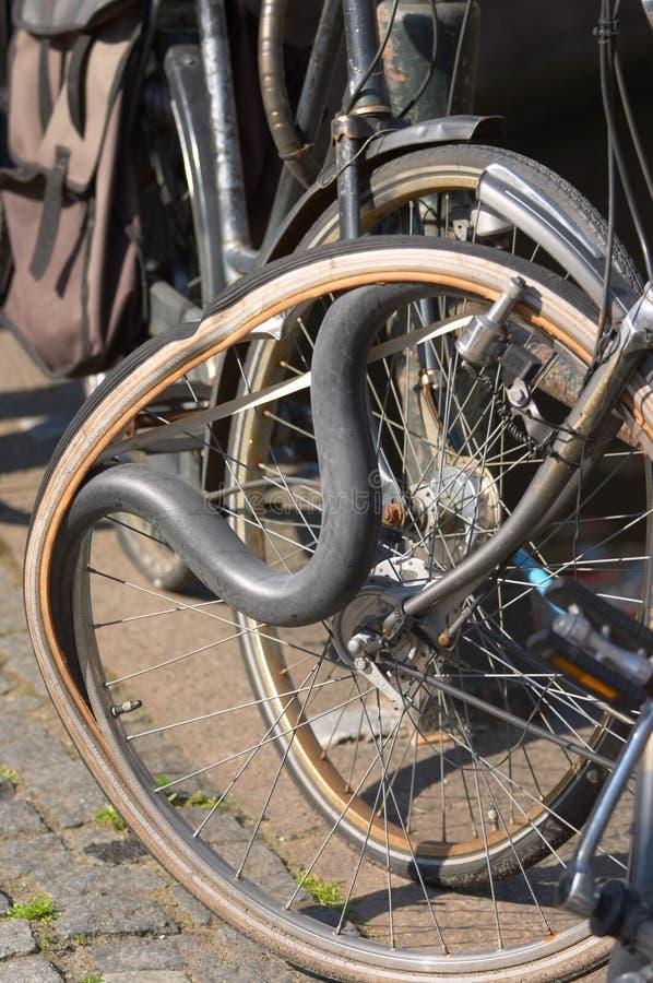 自行车管 免版税库存图片