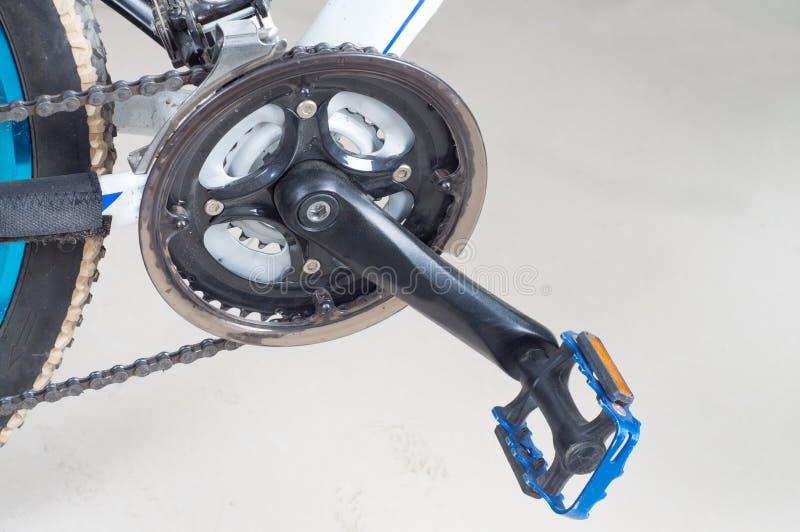 自行车脚蹬 库存图片