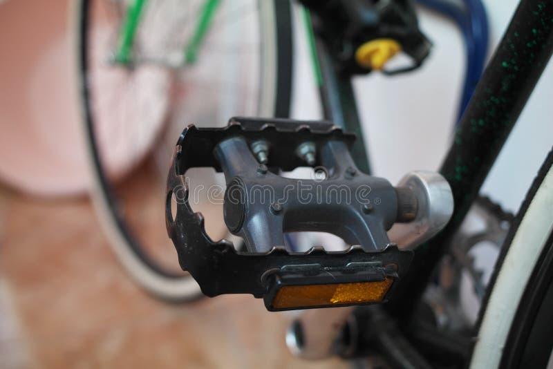 自行车脚蹬 免版税库存图片