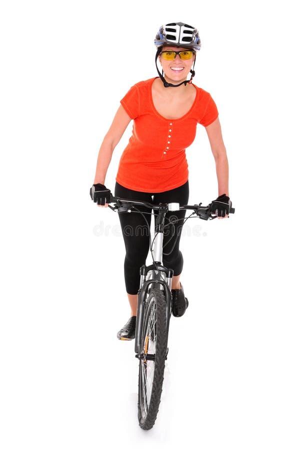 自行车行程 库存图片