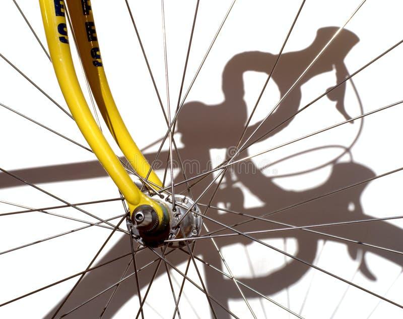 自行车赛跑 图库摄影