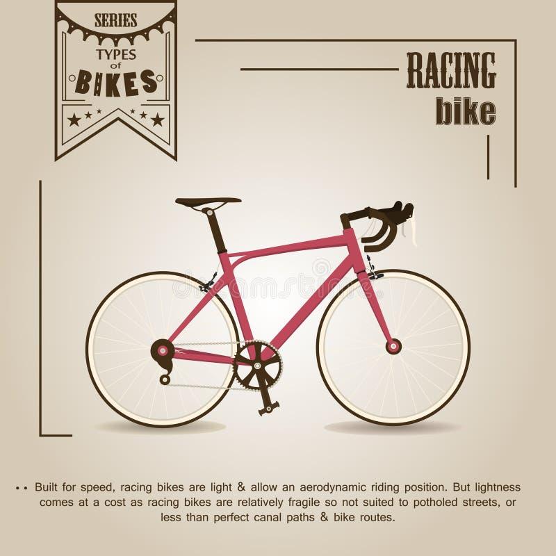 自行车赛跑 皇族释放例证