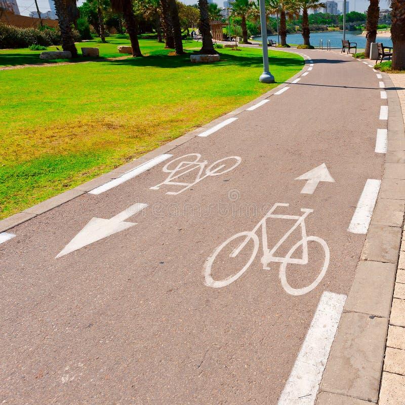 自行车轨道 免版税库存照片