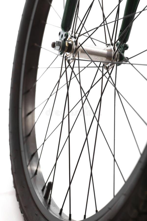 自行车轮幅 免版税图库摄影