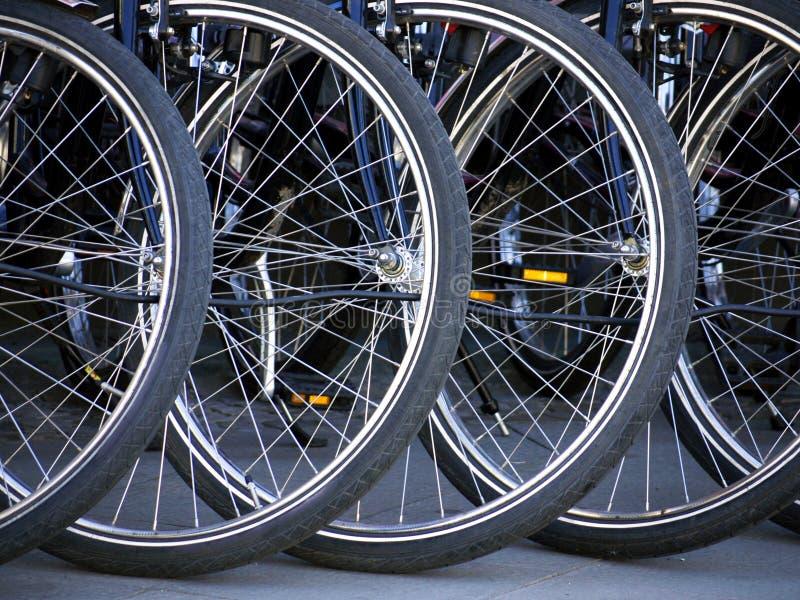 自行车轮胎 免版税库存图片