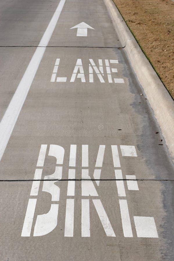 自行车运输路线 免版税库存照片