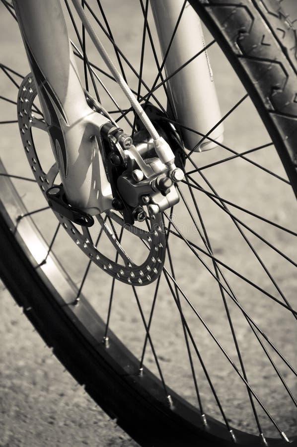 自行车闸 库存照片