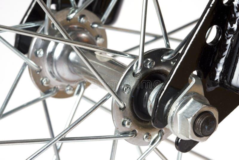 自行车齿轮 免版税库存照片