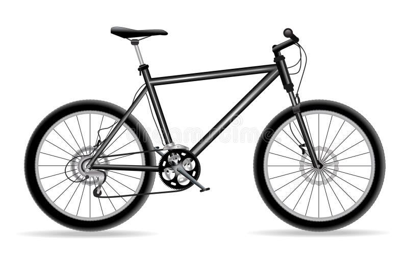 自行车 向量例证