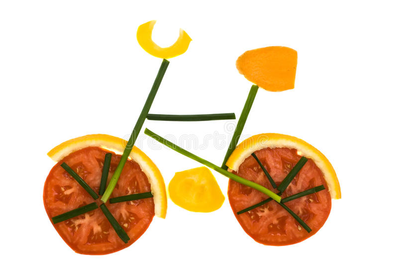 自行车gocery 免版税库存图片