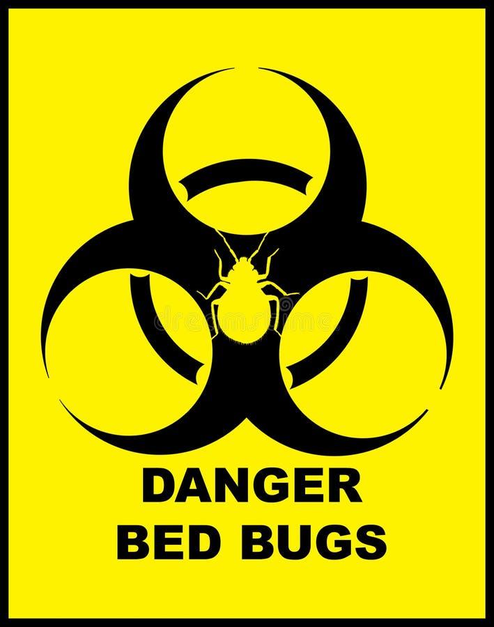 臭虫危险危险等级 皇族释放例证
