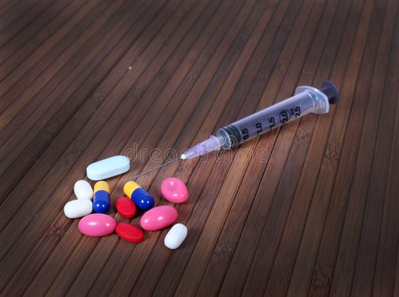 致命的药物 免版税图库摄影