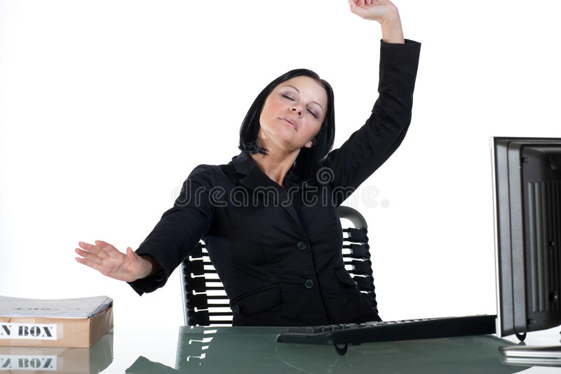 Download 舒展工作者的服务台办公室 库存图片. 图片 包括有 服务台, 爱好健美者, 关键董事会, 计算机, 商业 - 15676969