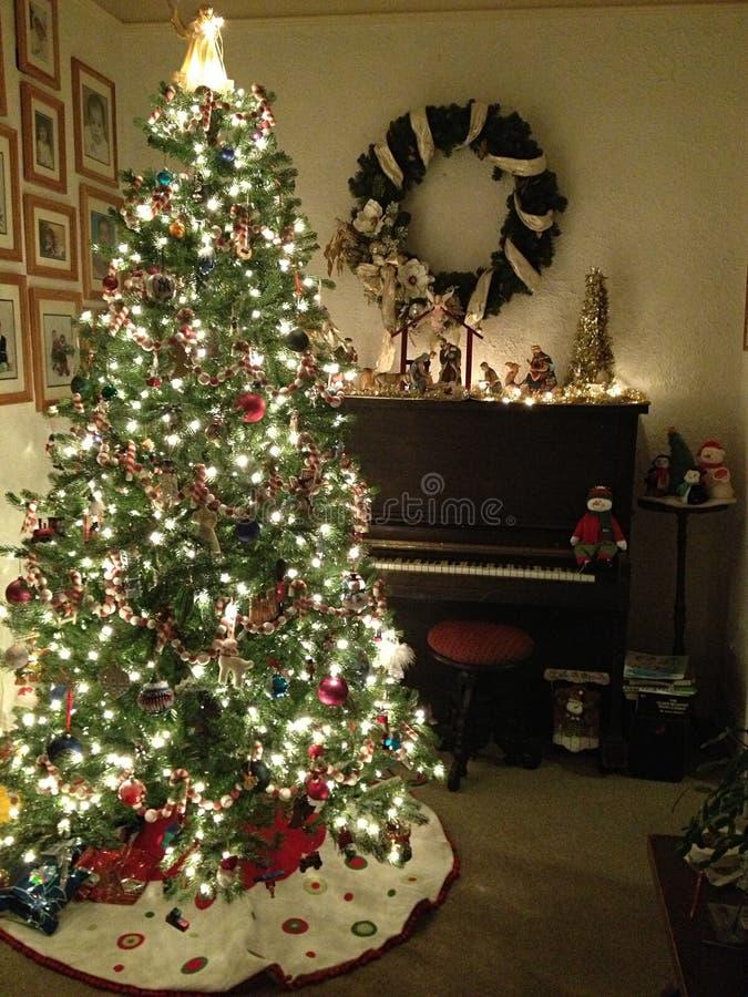 舒适圣诞节 免版税库存照片