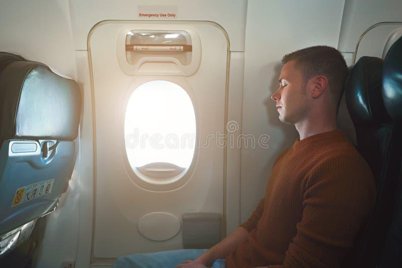 舒适旅行乘飞机 免版税图库摄影