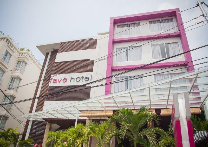 舒适旅馆在库塔 免版税库存照片