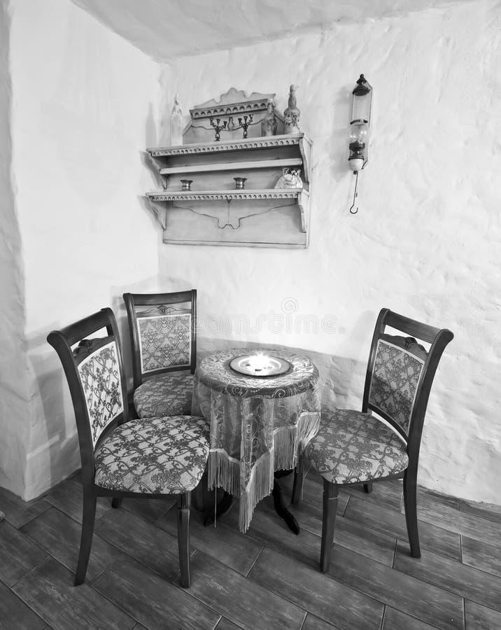 舒适的咖啡馆 免版税库存图片