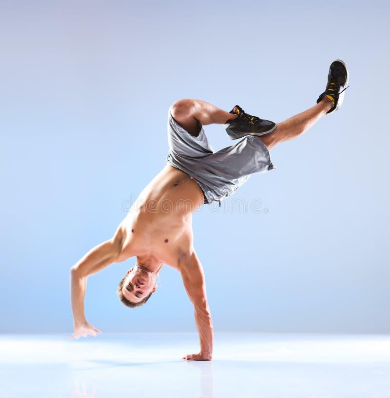 舞蹈人现代年轻人 免版税库存照片