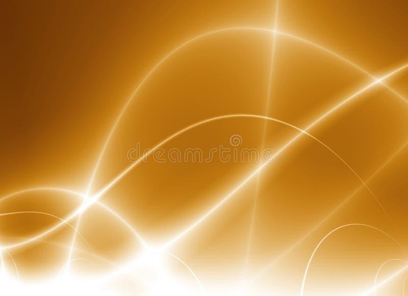 舞蹈光 向量例证