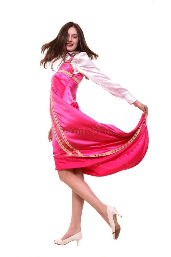 舞蹈国民 免版税库存照片