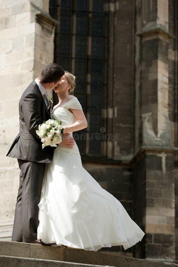 舞蹈婚礼 免版税库存图片