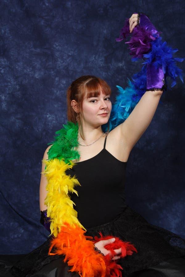 舞蹈学员 库存图片
